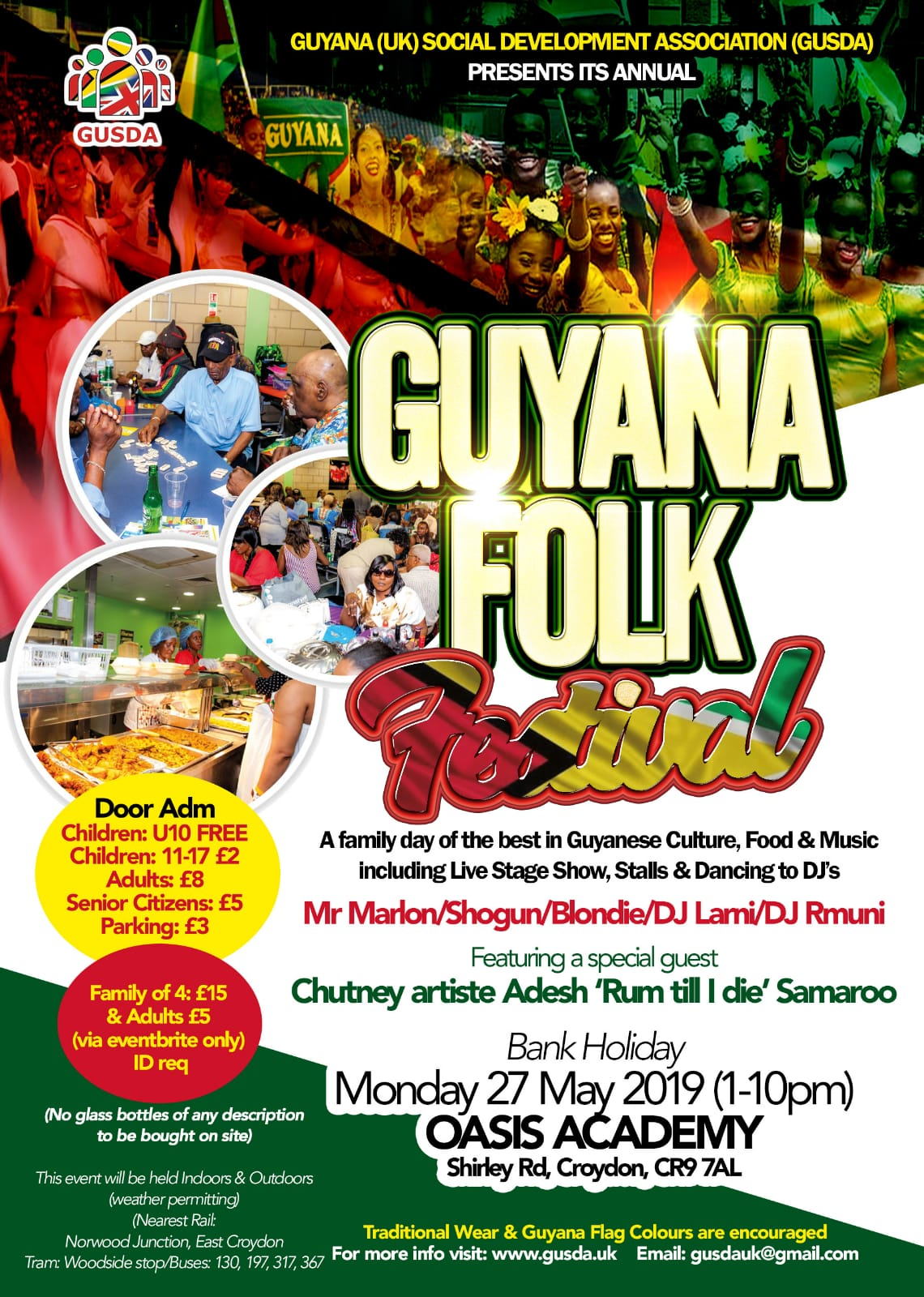 guyana folk festival may 2019